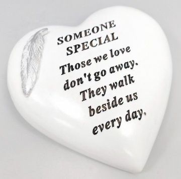 Large 15cm In Loving Memory SOMEONE SPECIAL Grave Stone  DF17973P